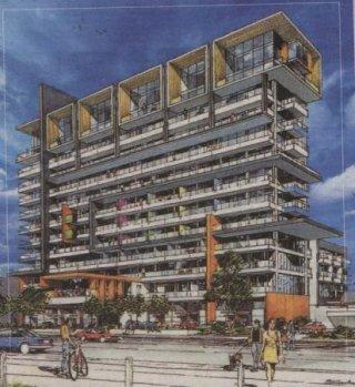 Com Air Apartments 13lvls 55m Residential